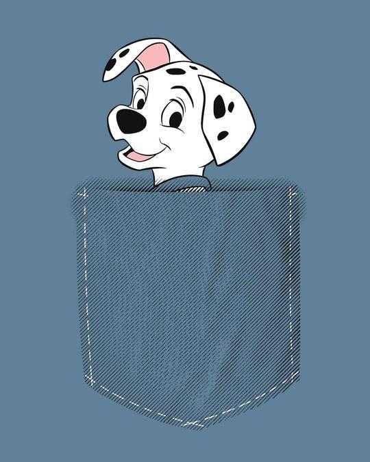 Shop Pocket Dalmatian Boyfriend T-Shirt (DL)