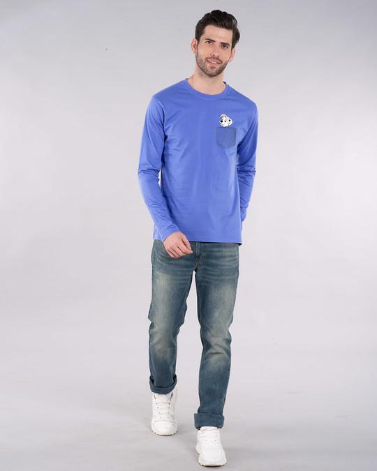Shop Pocket Dalmatian Full Sleeve T-Shirt (DL)-Design