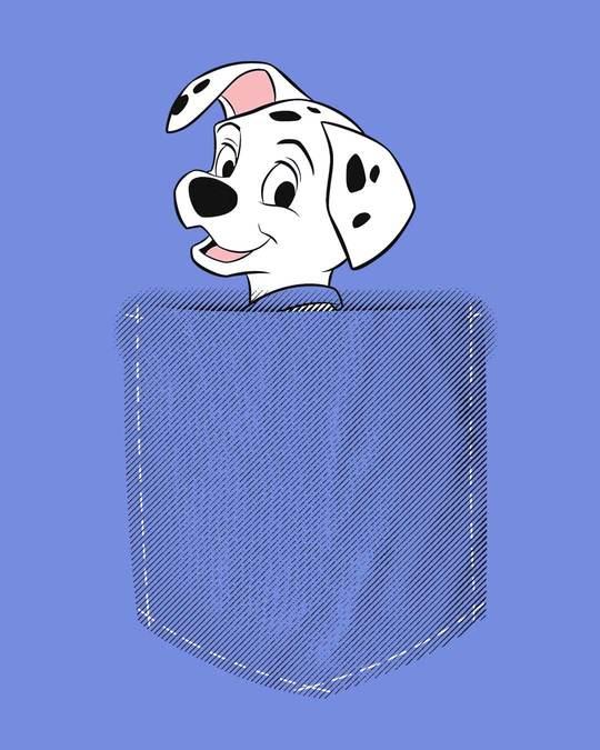 Shop Pocket Dalmatian Full Sleeve T-Shirt (DL)-Full