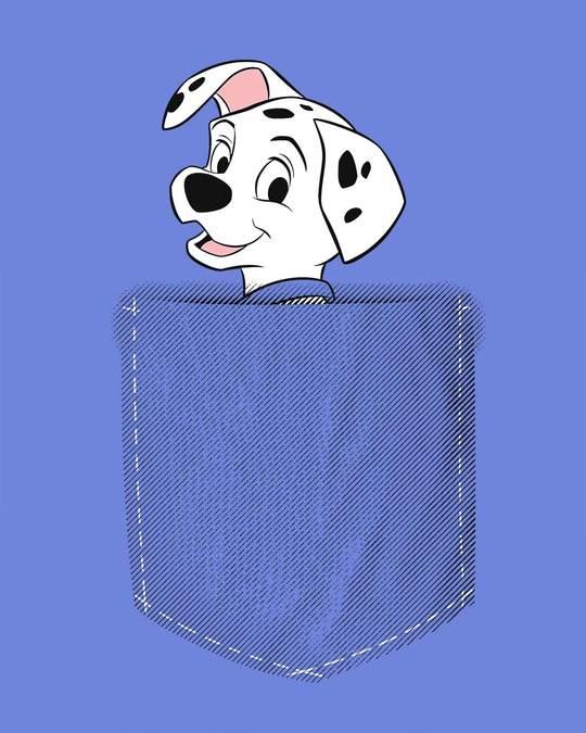 Shop Pocket Dalmatian Half Sleeve T-Shirt (DL)