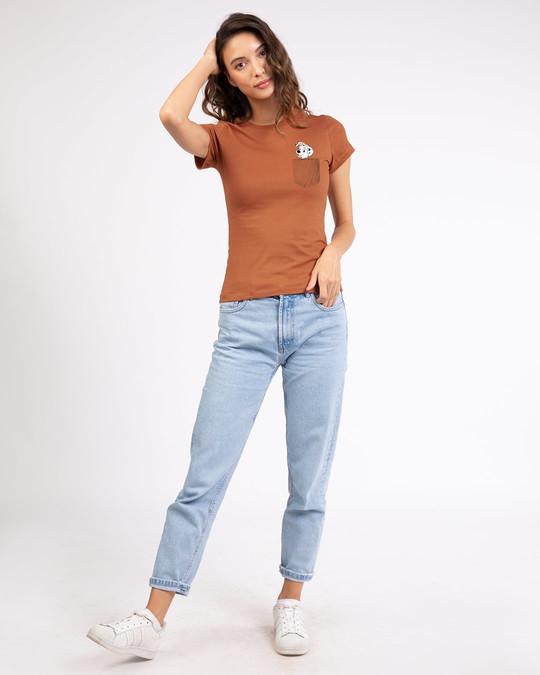Shop Pocket Dalmatian Half Sleeve T-Shirt (DL)-Design