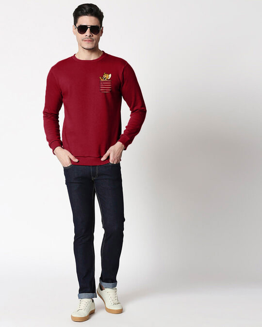 Shop Pocket Jerry Fleece Sweater-Full