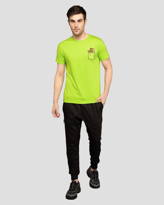 Shop Pocket Jerry Half Sleeve T-Shirt (TJL)-Full