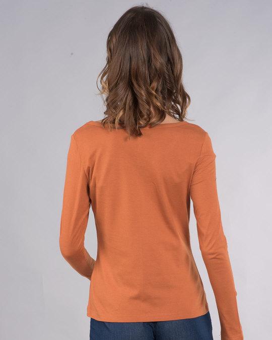 Shop Pocket Jerry Scoop Neck Full Sleeve T-Shirt (TJL)-Design