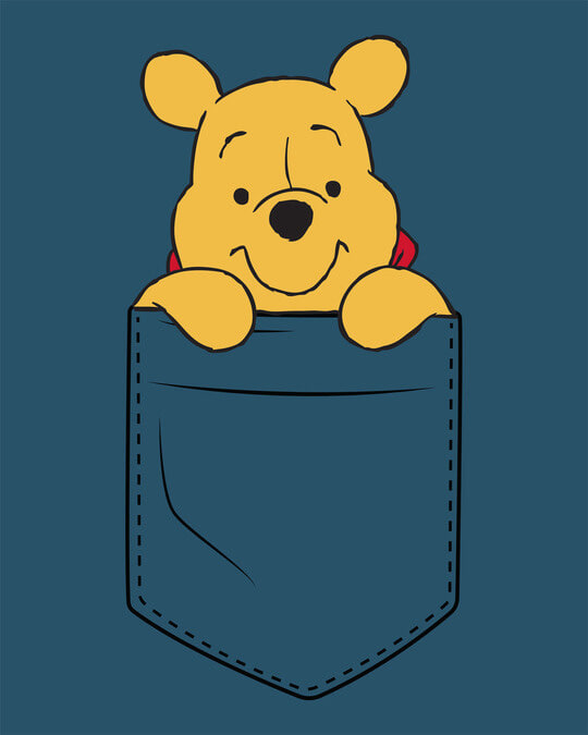 Shop Pocket Pooh Boyfriend T-Shirt (DL)