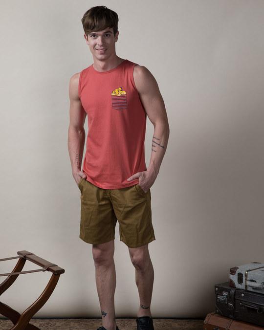 Shop Pocket Simba Vest (DL)