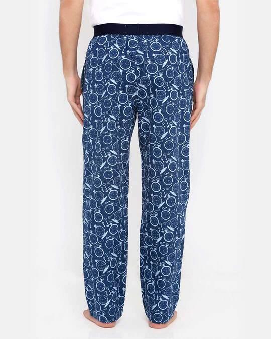 Shop Smugglerz Pocketwatch Pyjamas Navy-Design