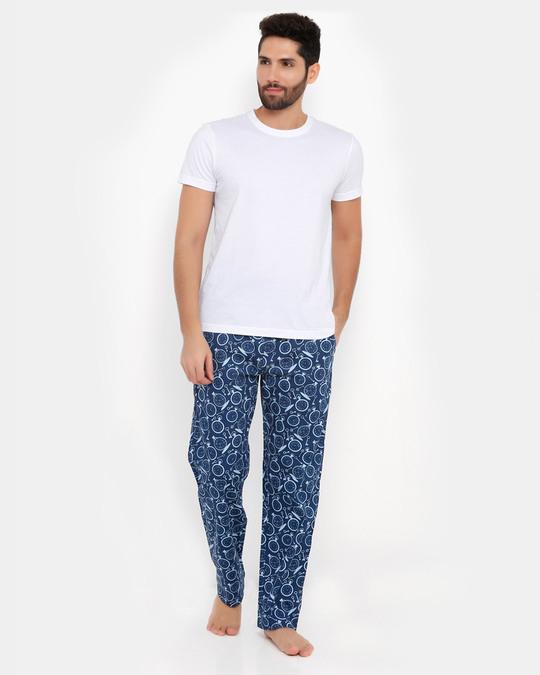 Shop Smugglerz Pocketwatch Pyjamas Navy-Full