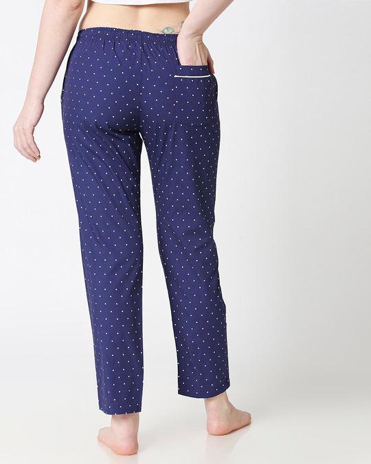 Shop Polka Dot All Over Printed Pyjama-Full