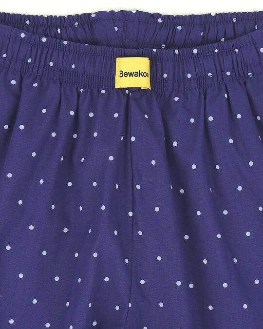 Shop Polka Dot All Over Printed Pyjama
