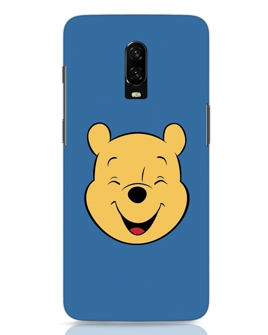 Shop Pooh Face OnePlus 6T Mobile Cover-Front