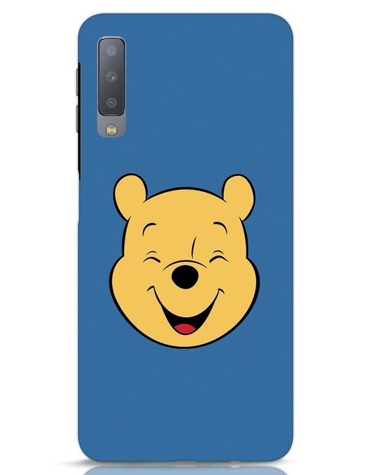 Shop Pooh Face Samsung Galaxy A7 Mobile Cover-Front