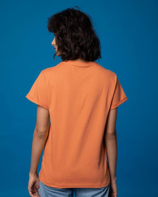 Shop Pooh Keep Smiling Boyfriend T-Shirt (DL)-Full