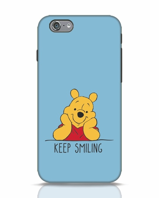 Shop Pooh Keep Smiling iPhone 6s Mobile Cover-Front