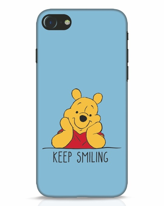 Shop Pooh Keep Smiling iPhone 7 Mobile Cover-Front