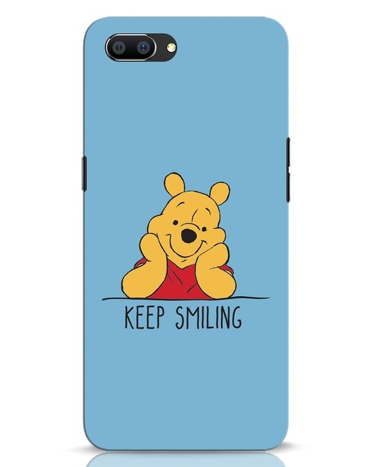 Shop Pooh Keep Smiling Realme C1 Mobile Cover-Front