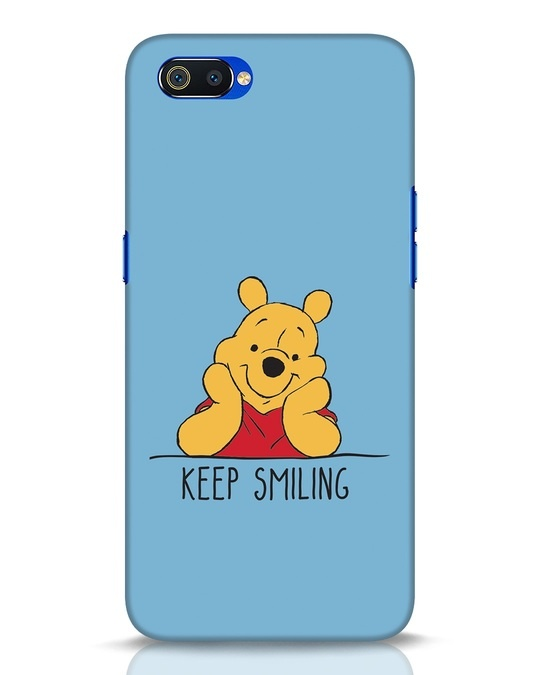Shop Pooh Keep Smiling Realme C2 Mobile Cover-Front