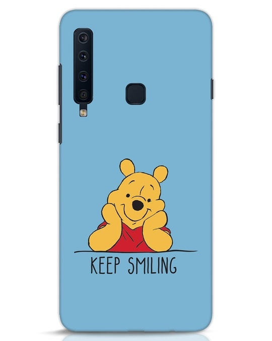 Shop Pooh Keep Smiling Samsung Galaxy A9 2018 Mobile Cover-Front