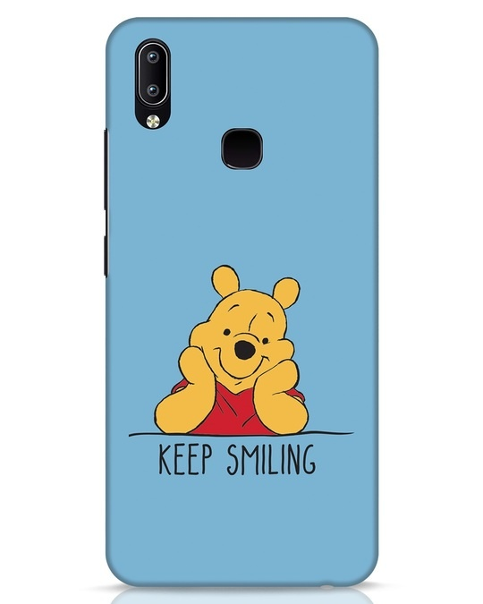 Shop Pooh Keep Smiling Vivo Y91 Mobile Cover-Front