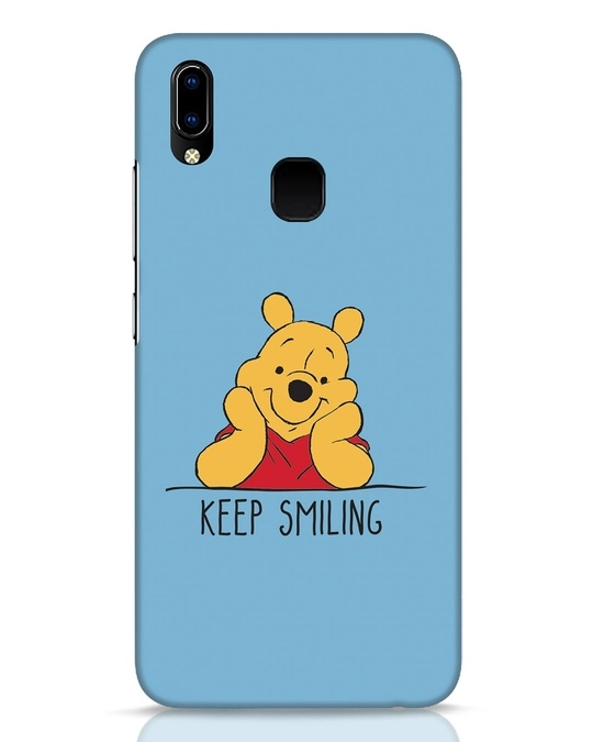 Shop Pooh Keep Smiling Vivo Y93 Mobile Cover-Front
