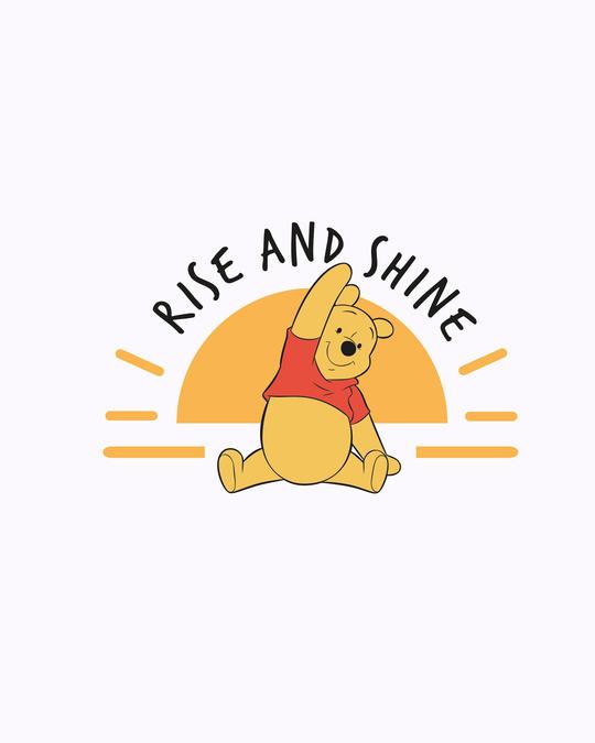 Shop Pooh Rise & Shine Boyfriend T-Shirt (DL) White-Full