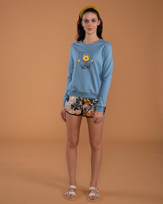 Shop Pooh Xoxo Sweatshirt (DL)-Full
