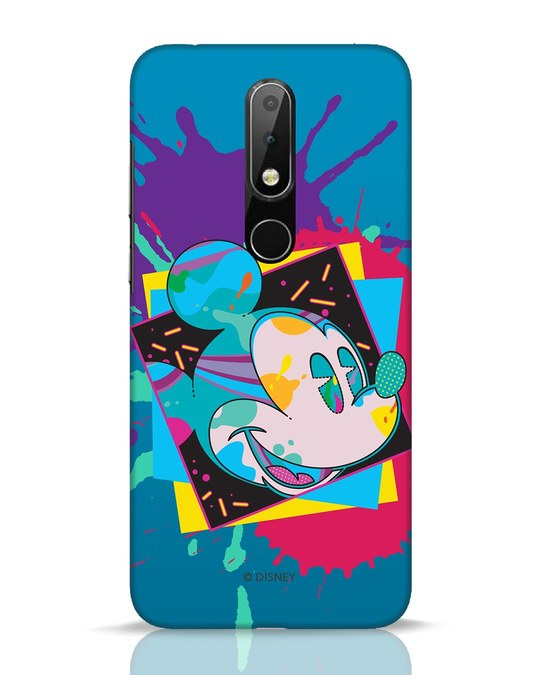 Shop Pop Mickey Nokia 6.1 Plus Mobile Cover (DL)-Front