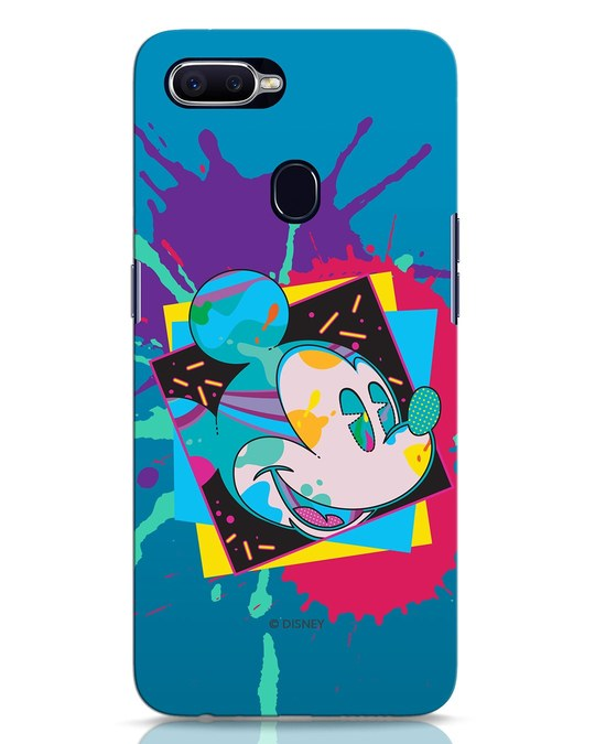 Shop Pop Mickey Oppo F9 Pro Mobile Cover (DL)-Front