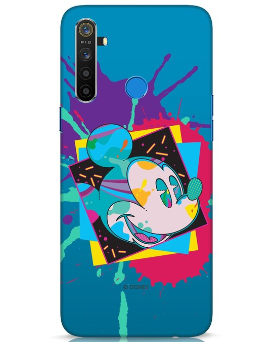 Shop Pop Mickey Realme 5 Mobile Cover (DL)-Front