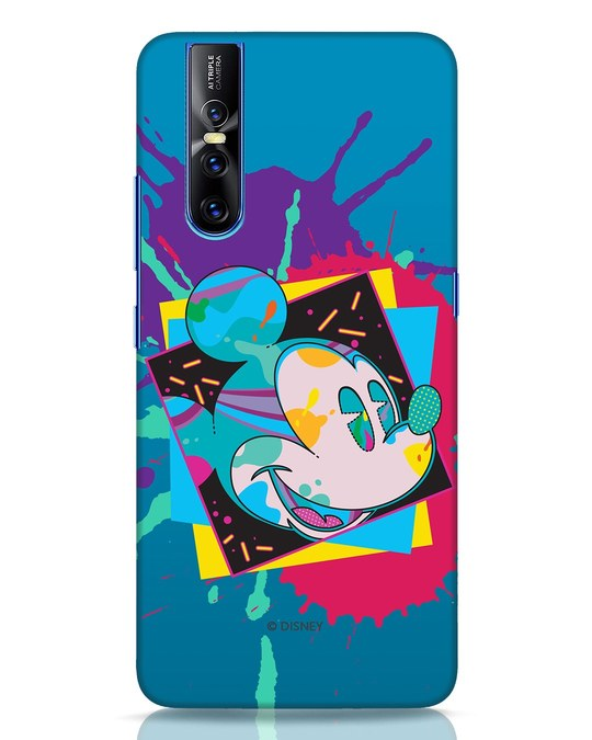 Shop Pop Mickey Vivo V15 Pro Mobile Cover (DL)-Front