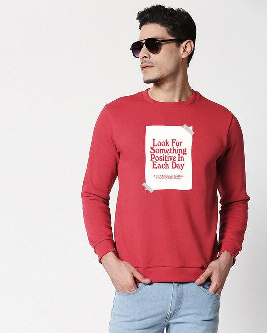 Shop Positive Days  Fleece Sweater-Front