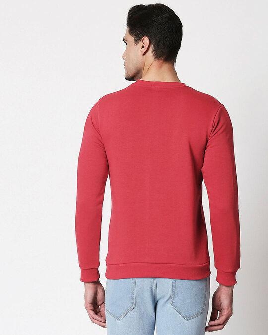Shop Positive Days  Fleece Sweater-Back