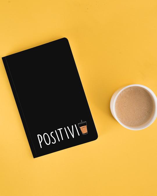 Shop PositiviTea Notebook-Front
