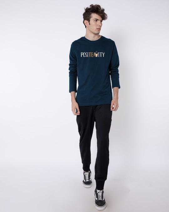 Shop Positivity Full Sleeve T-Shirt-Full