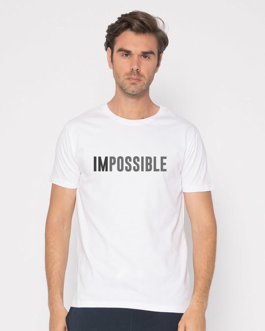 Shop Possible Half Sleeve T-Shirt-Back