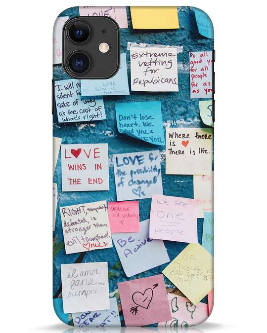 Shop Post It Up iPhone 11 Mobile Cover-Front