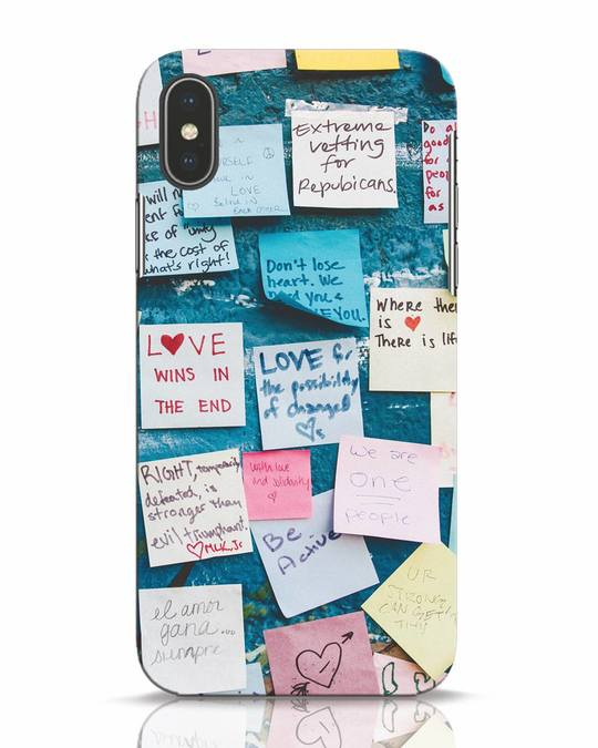 Shop Post It Up iPhone X Mobile Cover-Front