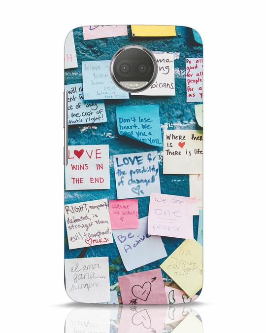 Shop Post It Up Moto G5s Plus Mobile Cover-Front