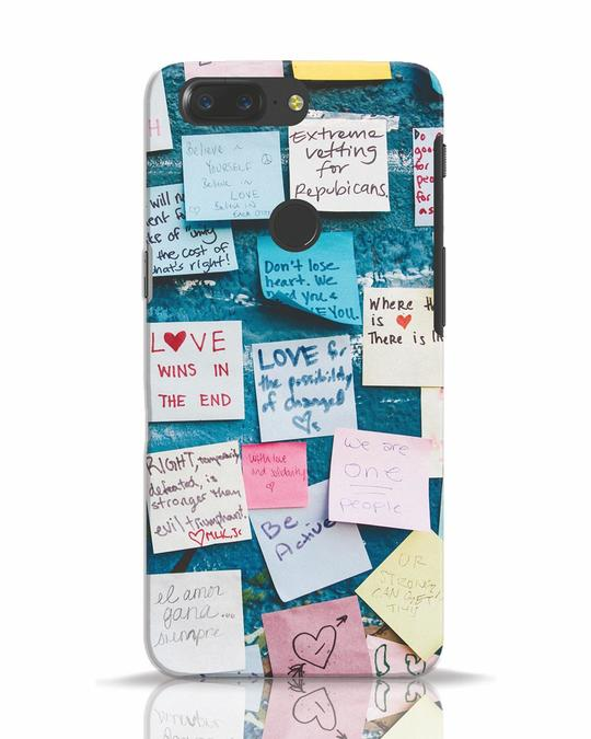 Shop Post It Up OnePlus 5T Mobile Cover-Front