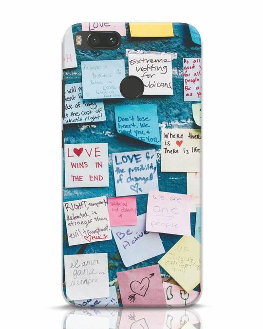 Shop Post It Up Xiaomi Mi A1 Mobile Cover-Front