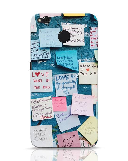 Shop Post It Up Xiaomi Redmi 4 Mobile Cover-Front