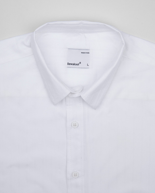 Shop Powder White Solid Shirt