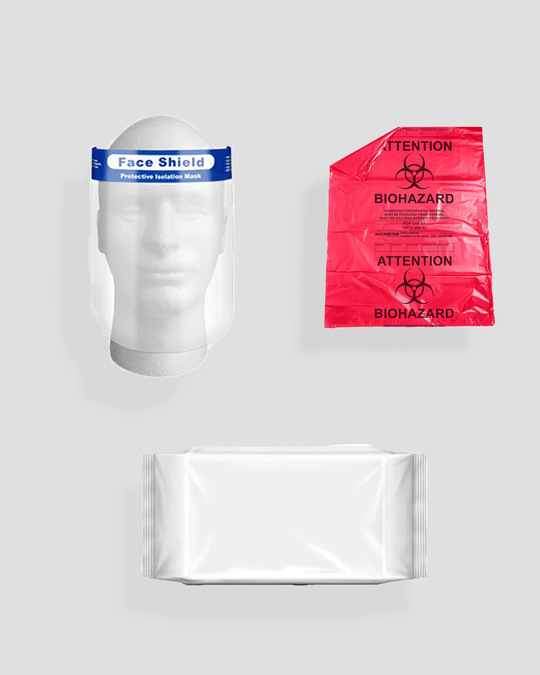 Shop Premium Protective Gear Kit - Pack of 2-Full