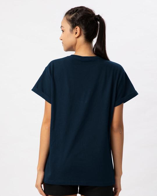 Shop Princess Girl Boyfriend T-Shirt-Back