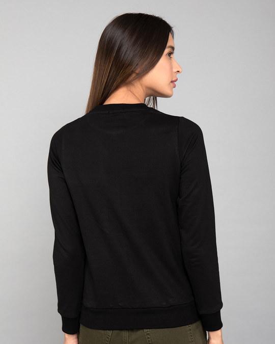 Shop Princess Girl Fleece Sweater-Back