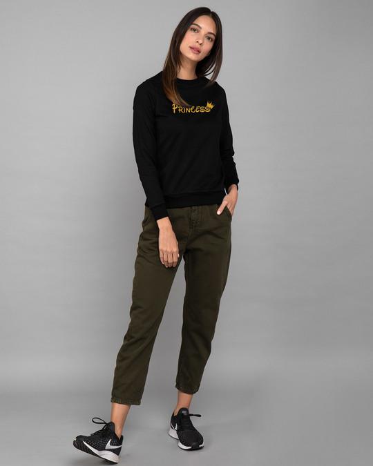 Shop Princess Girl Fleece Sweater-Design