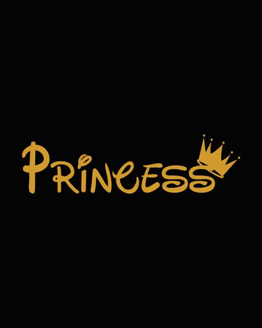 Shop Princess Girl Round Neck 3/4th Sleeve T-Shirt