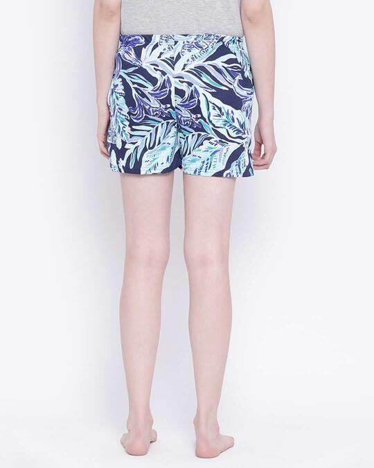 Shop Clovia Print Me Pretty Boxer Shorts in Multicolour-Design