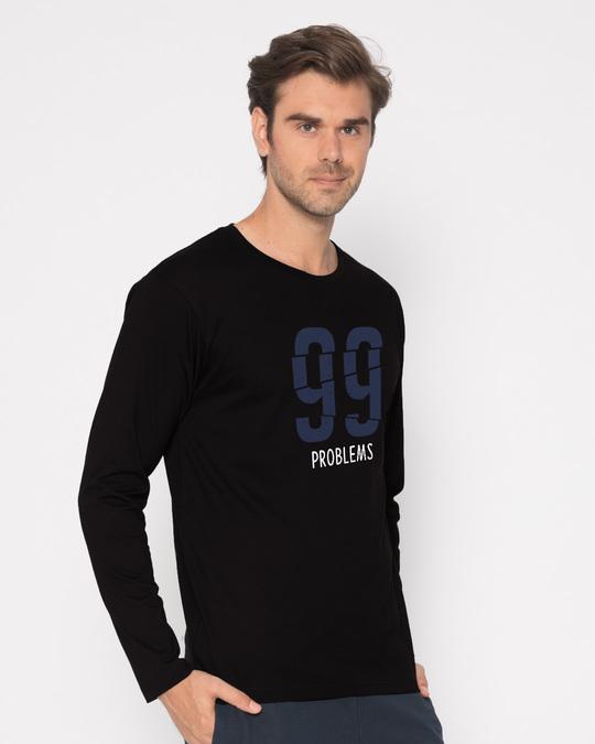 Shop Problems Ain't Full Sleeve T-Shirt-Back