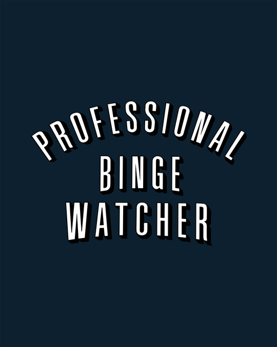 Shop Professional Binge Half Sleeve T-Shirt-Full